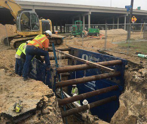 Utility Installation, Repair & Removal | San Antonio, TX