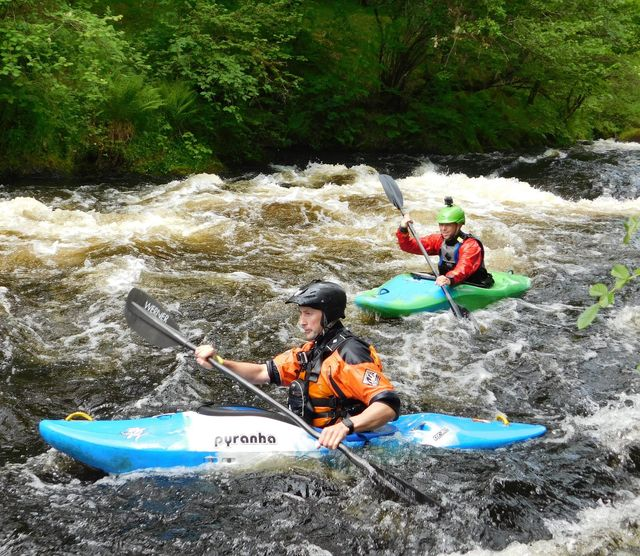 Bespoke coaching with the National White Water Centre in north Wales
