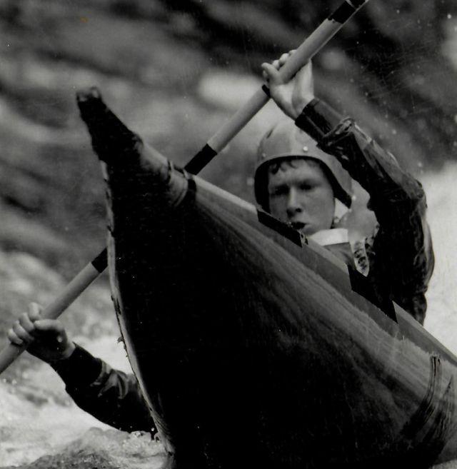 Slalom kayaking is popular on the Tryweryn