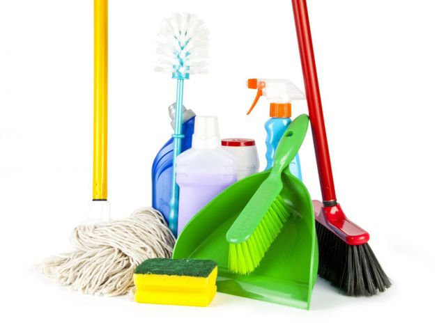 Products used for cleaning services in Queenstown