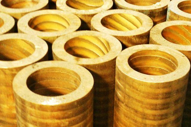 bronze continuous tubes