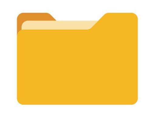 icona di una cartella di lavoro