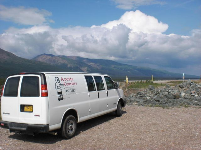 delivering to remote locations throughout Alaska