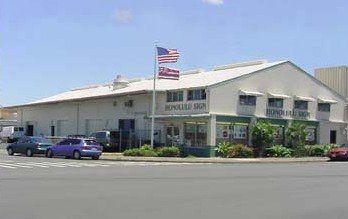 Exterior of Honolulu Sign Company