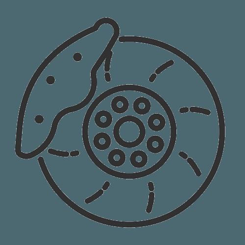 disk brake icon