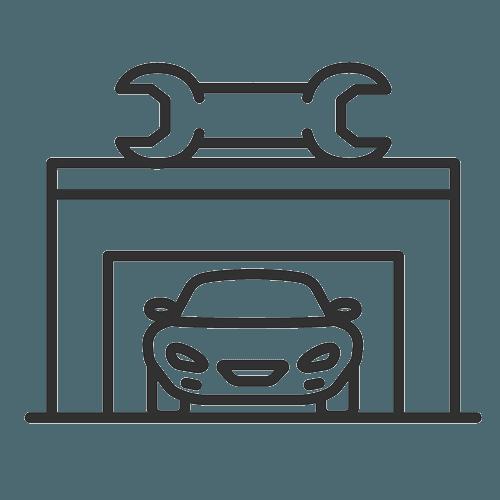 car in service icon