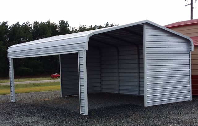 Residential property with a carport