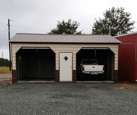 a grey carolina carport