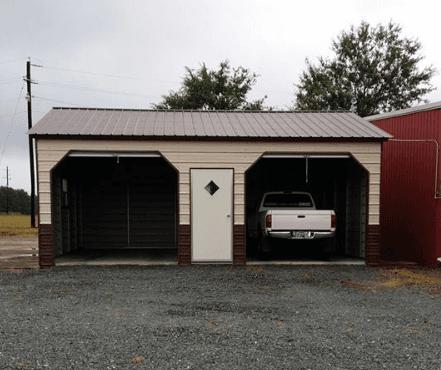 a grey carolina carport