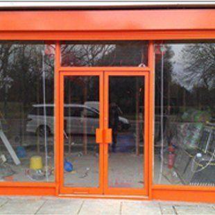 Shop entrance screens
