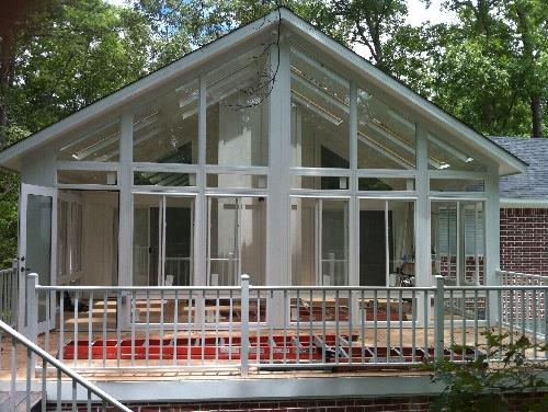 sunroom built by contractor