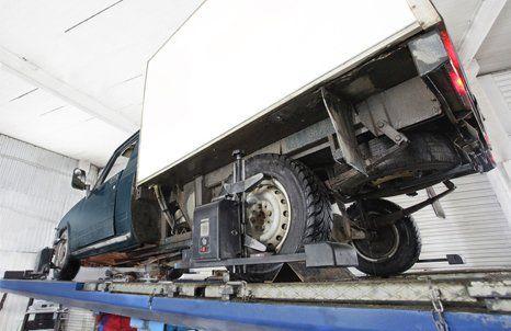 vehicle for repair