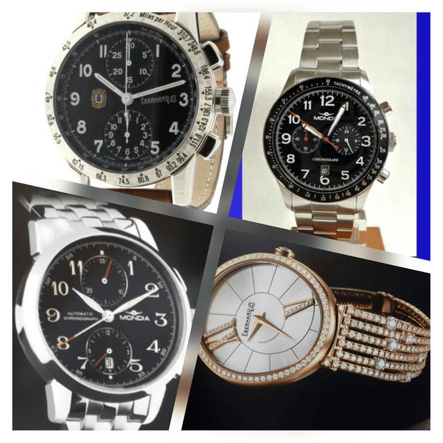 Esposizione orologi da uomo