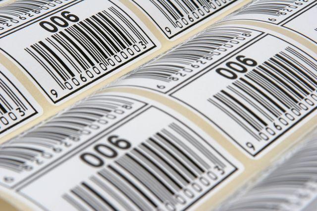 barcodes printed