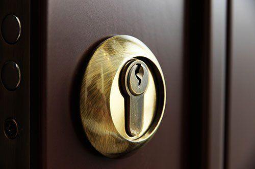 Dettaglio di una serratura di qualità - Varese