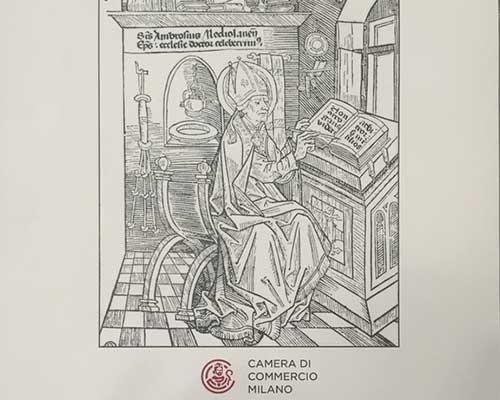 un disegno di un vescovo