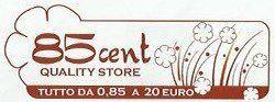 85 CENT QUALITY STORE logo