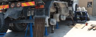 sostizione pneumatici camion