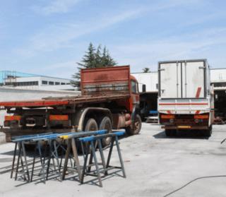 riparazione balestre autocarri