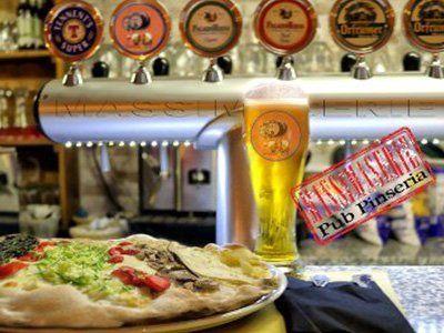 Birra e pizza a lunga lievitazione al Pub Pizzeria Massimaserie a Roma