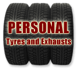 PERSONAL Tyres and Exhausts logo