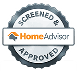 Screened and Approved HomeAdvisor Logo