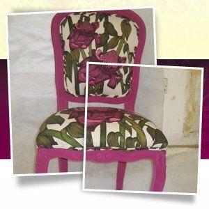 Foam cushions - Cambridge - CA & NC Pedlar Upholstery - chair