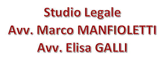 STUDIO LEGALE ASSOCIATO MANFIOLETTI - GALLI - LOGO