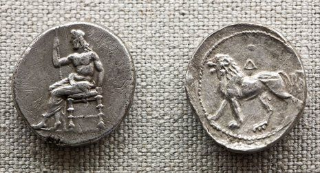 Original ancient coins