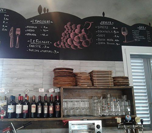 Bar dell'angolo Rosso a Carraia, Calenzano