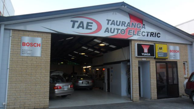 Auto electrical solutions garage in Tauranga