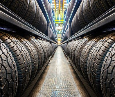 Tyres of different motor vehicles
