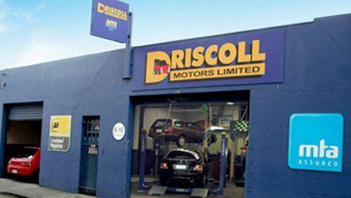 Driscoll Motors Limited workshop