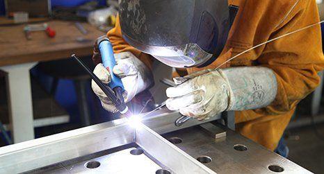 Small welding repairs