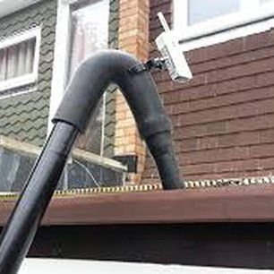 downspout cleaning