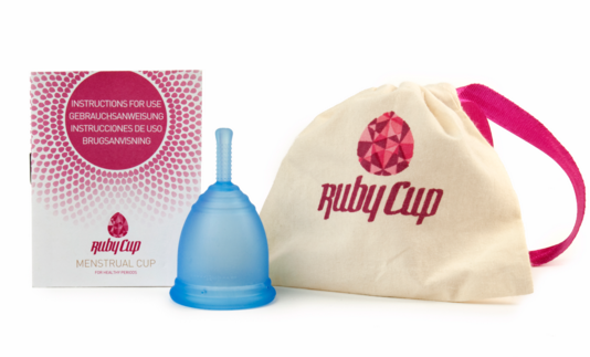Ruby Cup menstrual set