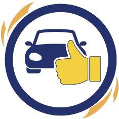 icon of thumbs up