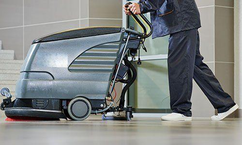 macchina per pulizia pavimenti