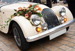 A wedding car