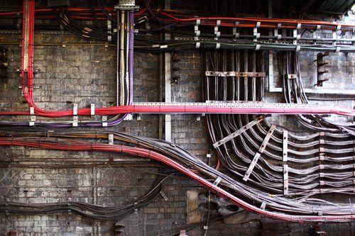 Underground wire fitting