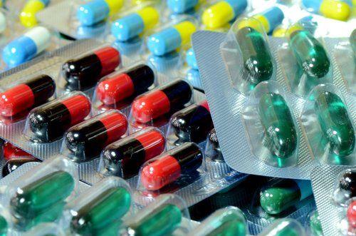 assortimento di farmaci