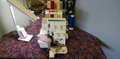 Sewing machine after receiving high-quality restoration services in Wasilla, AK