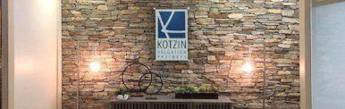 Lobby of Kotzin Valuation Partners' Phoenix office