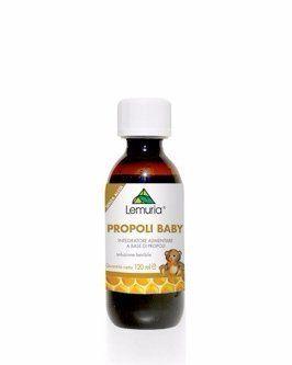 una confezione di Lemuria Propoli Baby