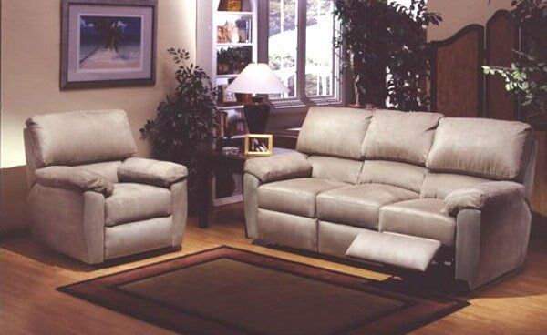 Vercelli Reclining Sofa And Chair U2014 Leather Furniture In Tukwila, WA
