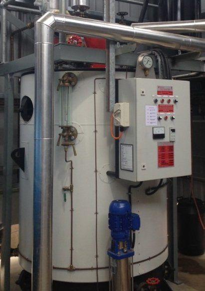 New LP Gas Boiler