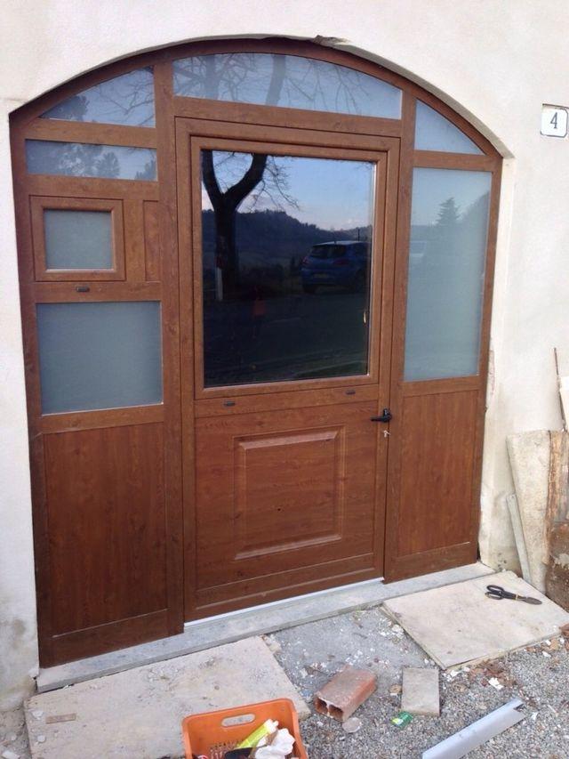Porte In Pvc Per Esterni.Aluminium Doors Terni Viterbo C I Met