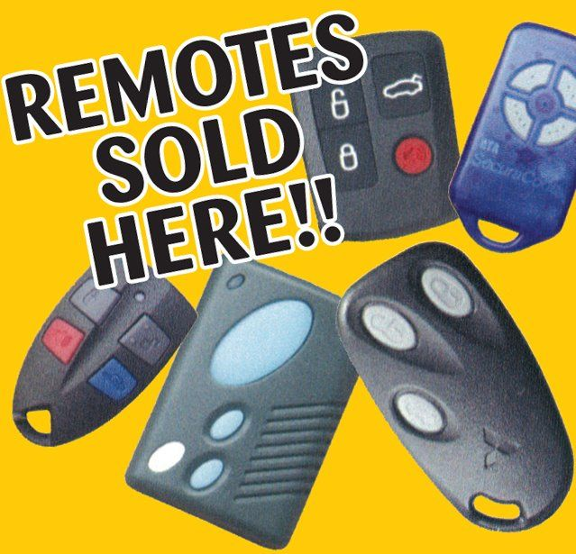 remotes sold at Key Accessories