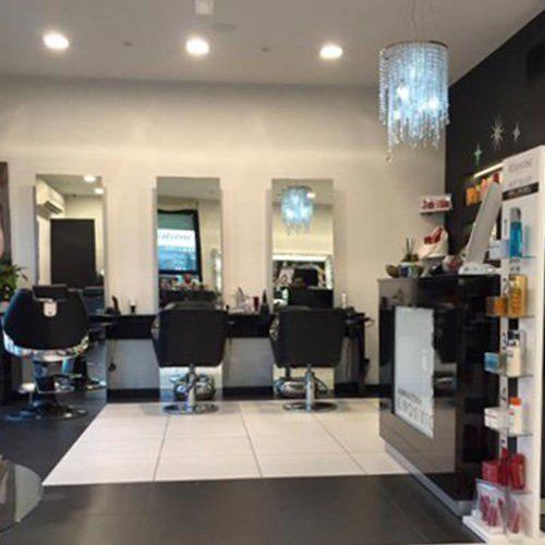 Interno del salone di Franco Giaquinto Parrucchieri a Lunata e Capannori