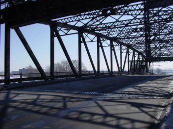 Buffalo NY Custom Steel Lift Bridge